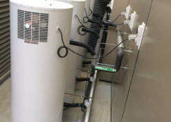 Heat Pump manifolded